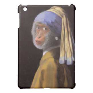 Chimp With The Pearl Earring iPad Mini Covers