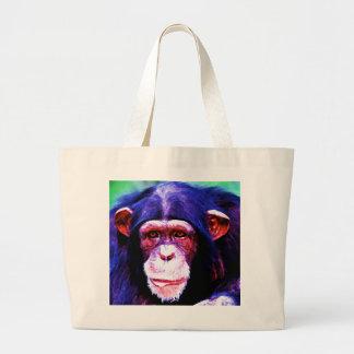 Chimpancé Bolsa Tela Grande