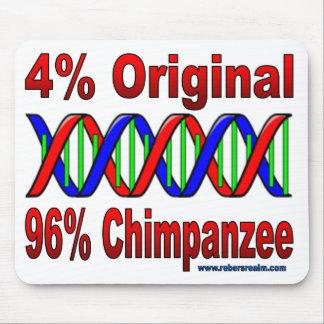 chimpancé del 96% alfombrillas de ratones