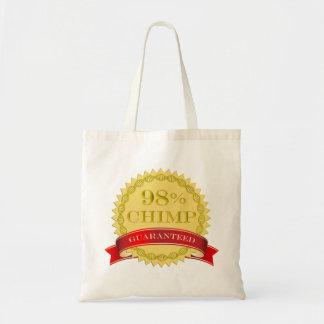Chimpancé del 98% - garantizado bolsa tela barata