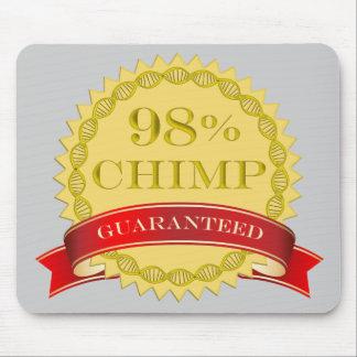Chimpancé del 98% - garantizado tapete de ratones