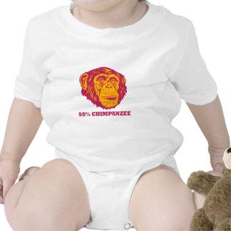 Chimpancé del 98% traje de bebé