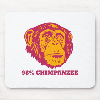 Chimpancé del 98% tapetes de raton