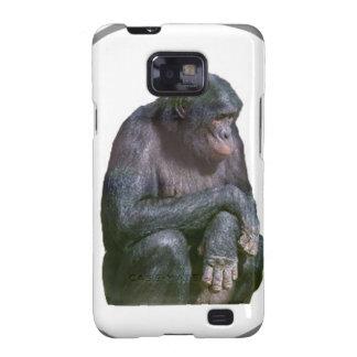 """""""Chimpancé """" Samsung Galaxy SII Funda"""