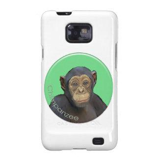 Chimpancé Samsung Galaxy SII Carcasas