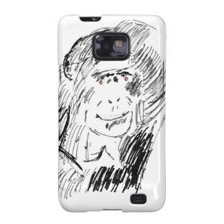 Chimpancé Samsung Galaxy S2 Carcasas