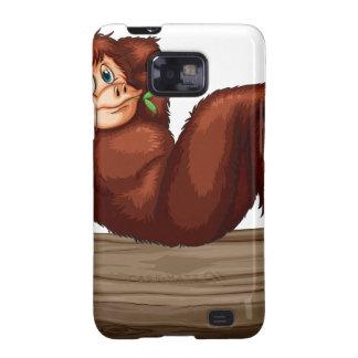 Chimpancé Samsung Galaxy SII Carcasa