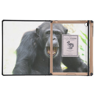 Chimpancé hablador iPad coberturas