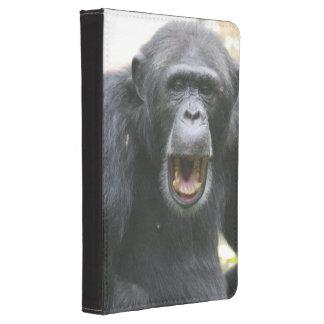 Chimpancé hablador funda para kindle touch