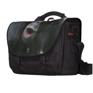 Chimpancé lindo bolsas para portatil
