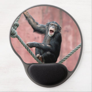 Chimpanzee 001 gel mouse pad