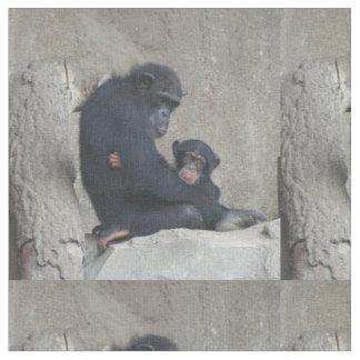 Chimpanzee 115 fabric