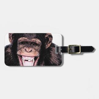 Chimpanzee Bag Tag