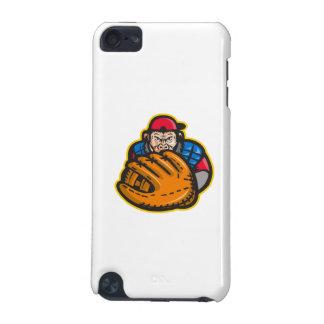 Chimpanzee Baseball Catcher Glove Retro iPod Touch (5th Generation) Cover