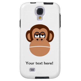Chimpanzee cartoon galaxy s4 case