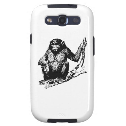 Chimpanzee Samsung Galaxy SIII Cases