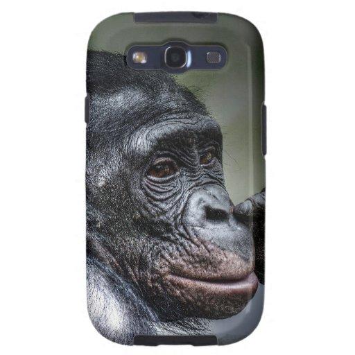 Chimpanzee Galaxy S3 Covers