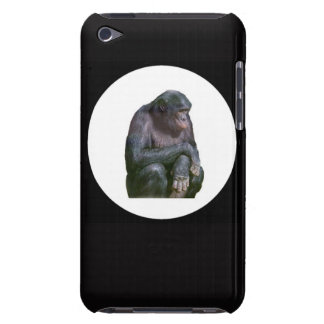 "Chimpanzee"" design Apple product cases and sleves iPod Touch Case"