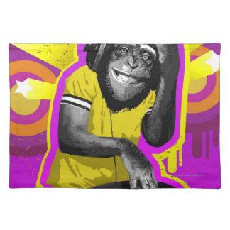 Chimpanzee DJ Placemat