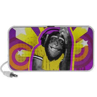 Chimpanzee DJ Travel Speakers