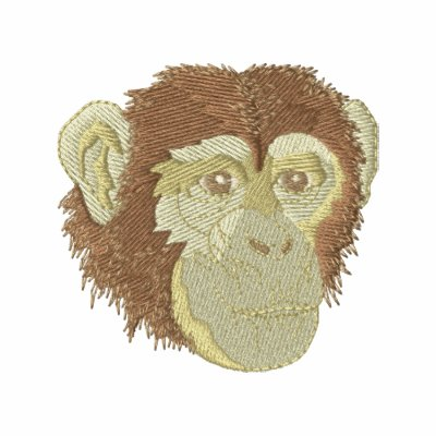 Chimpanzee Embroidered Polo Shirt