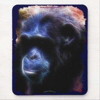 Chimpanzee Endangered Wildlife-supporter Mousepad