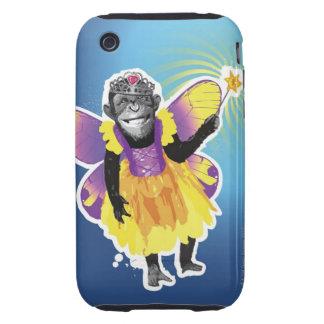 Chimpanzee Fairy iPhone 3 Tough Covers