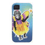 Chimpanzee Fairy iPhone 4 Covers