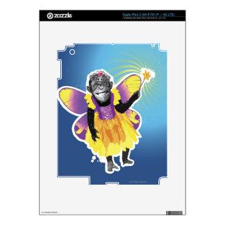 Chimpanzee Fairy Skin For iPad 3
