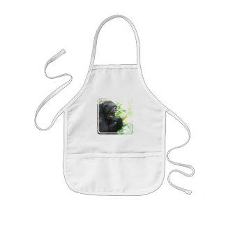 Chimpanzee Fangs Children's Apron