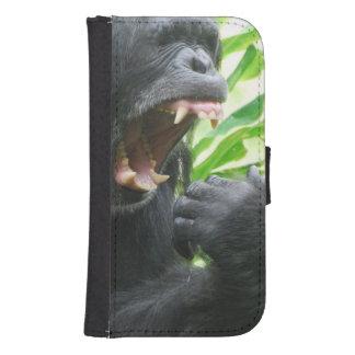 Chimpanzee Fangs Phone Wallet