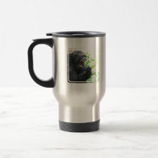 Chimpanzee Fangs Travel Mug