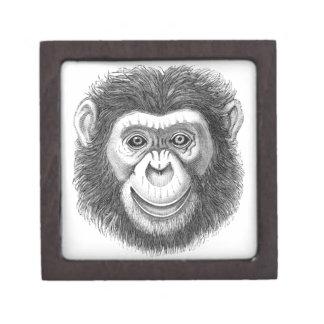 Chimpanzee Gift Box Premium Keepsake Box