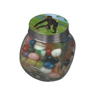 Chimpanzee Glass Jars