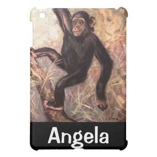 Chimpanzee Hanging in Tree iPad Mini Cover