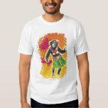 Chimpanzee Hula Dancing T-Shirt