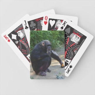 Chimpanzee in Deep Thought Poker Deck