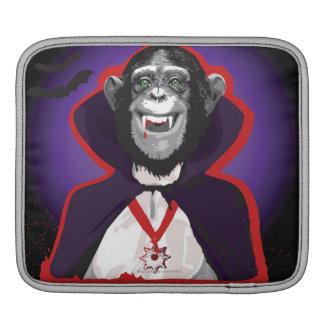 Chimpanzee in Dracula Costume Sleeve For iPads
