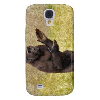 Chimpanzee iPhone 3G Case Samsung Galaxy S4 Cases
