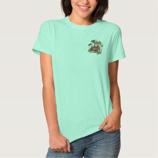 Chimpanzee Jungle Baby Embroidered Shirt