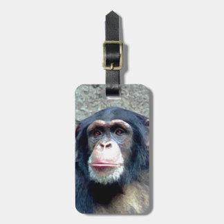 Chimpanzee Luggage Tags