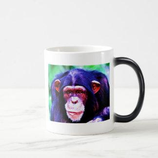 Chimpanzee Magic Mug