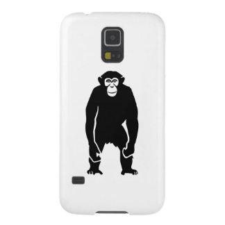 Chimpanzee monkey galaxy s5 covers