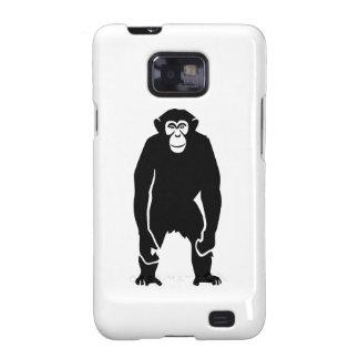 Chimpanzee monkey samsung galaxy SII cases