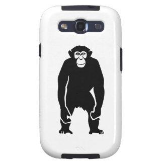 Chimpanzee monkey galaxy s3 covers