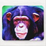 Chimpanzee Mouse Pad
