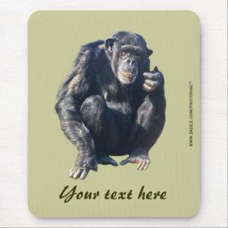 Chimpanzee Mousepad