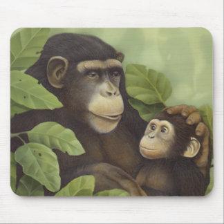 Chimpanzee Mouse Pads