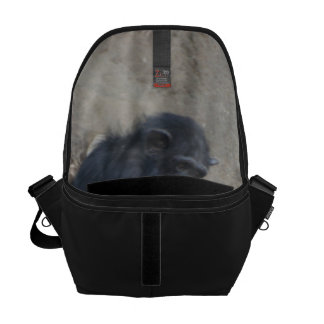 Chimpanzee Mummy and Baby Courier Bag