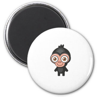 Chimpanzee - My Conservation Park 2 Inch Round Magnet